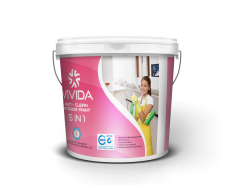 ANTI – CLEAN INTERIOR PAINT 5 IN 1