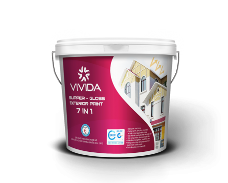 Supper – Gloss Exterior Paint 7 in 1