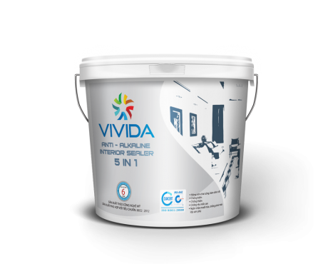 Anti – Alkaline Interior Sealer 5 in 1