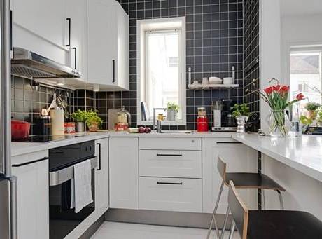 Thiết kế bếp chung cư theo khoa học phong thủy