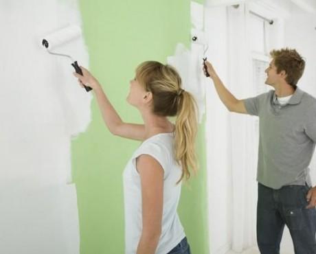 Lên kế hoạch sơn tường nhà mới