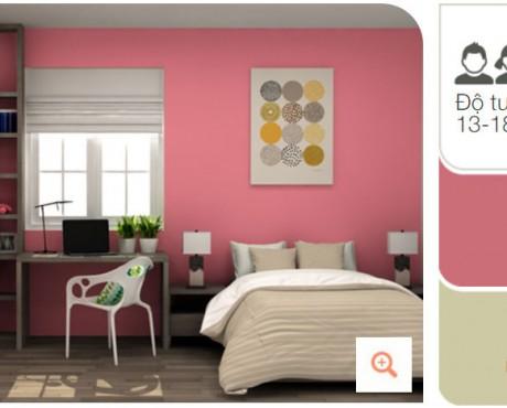 Màu sơn nhà đẹp cho gia chủ mệnh Thổ