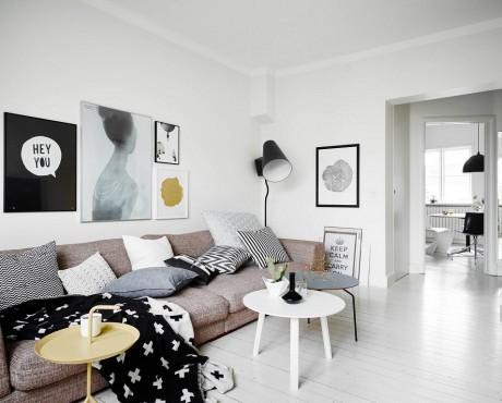 Ngất ngây với căn hộ 35m² với màu trắng