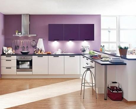 Những cách phối màu đơn giản cho gian bếp 'lạ mắt'