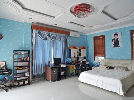 Thực hiện thi công sơn phòng ngủ cho bé chuyên nghiệp