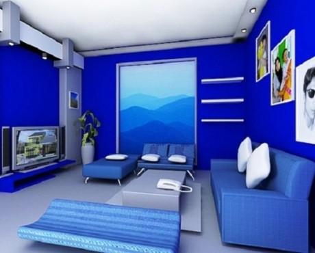 10 mẫu sơn phòng con trai ấn tượng